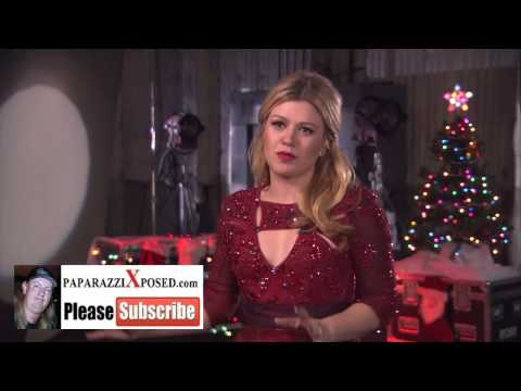 Kelly Clarkson star of Blake Shelton's Not So Family Christmas interview with PaparazziXposed com