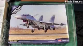 ACADEMY S-30M2 (SU-30M2) FLANKER Russian Air Force scale model 1/48