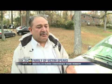 CBS 6 WTVR News on Br. Tayyab Who was Murdered in Richmond Virginia 11/26/2012