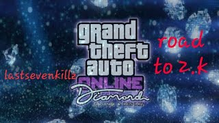 Playing grand theft Auto 5 the casino is here and giveaway @ 2.K