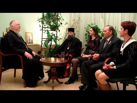 Беседа с гостями из Венгрии о традиционных семейных ценностях