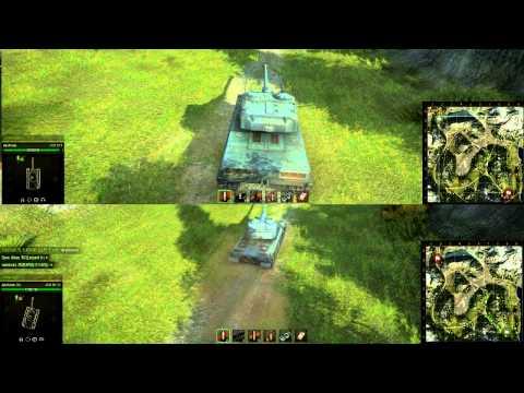 Обзор и Сравнение AMX 50 120 И AMX 50B | Таран по сравнению с E50M, углы наводки, маневренность
