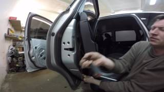 Ford CMax  disassembly door (Ford CMax разборка двери)
