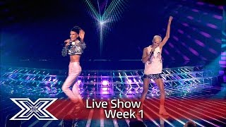 Bratavio fight for their place on the show | Results Show | The X Factor UK 2016