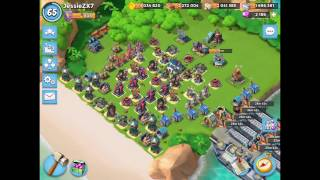 Boom Beach — 10 ices | Live attacks (HZ and WH)
