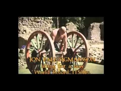 Jón Páll Sigmarsson - Larger than life