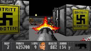 Wolfenstein 3D with NovoWolf.Level 7