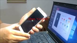 Phá mật khẩu  XIAOMI Redmi Note 4 bằng Hard Reset - Khôi phục cài đặt gốc