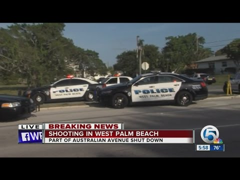 Shooting, foot pursuit in West Palm Beach