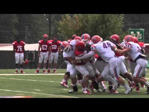Louisiana College - Alcorn State Game Hype Video 2014