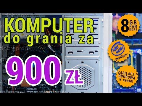 Komputer Za 900 Złotych. Intel HD Graphic 610 W Akcji!