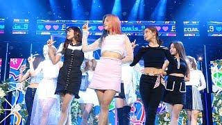 Fromis 9 프로미스나인 Love Bomb A인기가요 Inkigayo 20181021