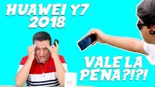 Review del Huawei Y7 2018 ! Vale la Pena !?! | ( + Unboxing ) | Español Latino