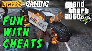 GTA 5: FUN WITH CHEATS