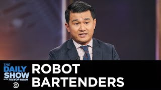 Today's Future Now - Digital Bouncers and A.I. Facial Recognition at the Bar | The Daily Show