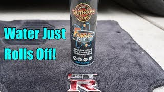 Masterson's Car Care Fabric Protectant Review on my GTR Floor Mats.