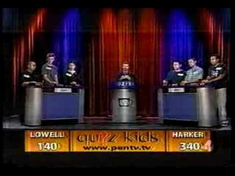 Quiz Kids - Lowell High School vs Harker