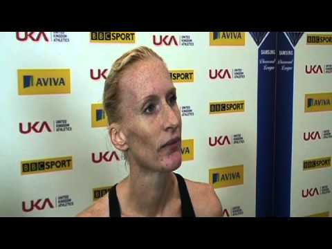 Aviva London Grand Prix - Barbara Parker - Women's 3000m SC