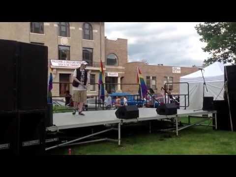 Star E. Knight performs at Cedar Rapids 2013