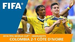 COLOMBIA v CÔTE D