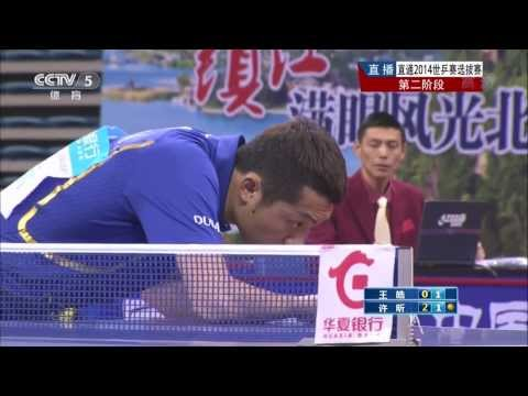 2014 China Trials for WTTTC: XU Xin - WANG Hao [HD] [Full Match/Chinese]