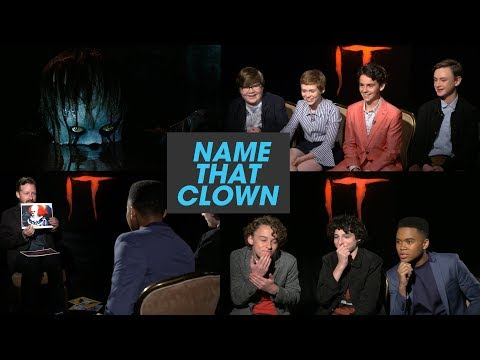 The 'It' Losers Club Plays 'Name That Clown'