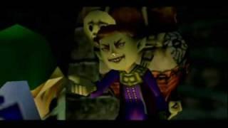 Legend of Zelda- Majora's Mask-History of the Mask cutscene