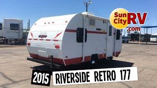 Riverside Whitewater Retro 177 For Sale Phoenix Travel Trailer 2015   Sun City RV