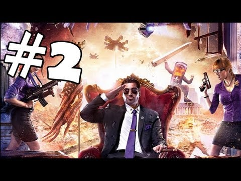 Saints Row 4 Walkthrough Part 2 *SPOILERS* Gameplay Review Let's Play Playthrough PC XBOX 360 PS3
