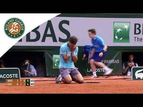 Match points - 2014 French Open