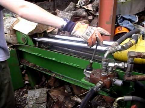 Homemade Log splitter Mark 3