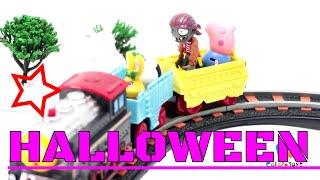 FROG MONSTER vs PJ MASK on HALLOWEEN day~! - COLORSnTOYS Episodes 08
