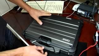 Защищенный ноутбук Getac X500 - обзор и комплектация