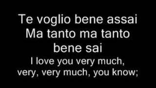 Caruso Italian English