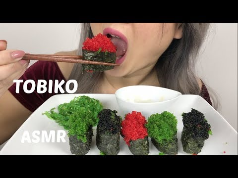 TOBIKO |*No Talking ASMR Extreme Crunch | N.E Lets Eat