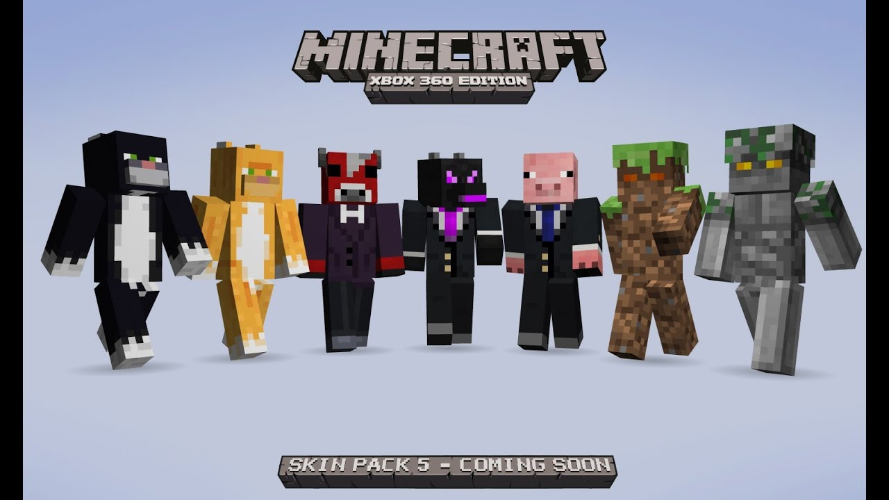 Minecraft Xbox 360 Edition Skin Pack 5 Review Todos