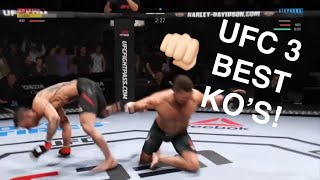 EA UFC 3 BEST KNOCKOUTS
