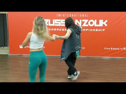 RZCC2018: Anna & Mafie workshop demo ~ Zouk Soul