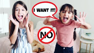 Parents Say YES to Everything for 24 Hours Challenge! We Want to Rescue a New Pet TwoSistersToyStyle