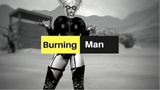 JLie and the Burning Man