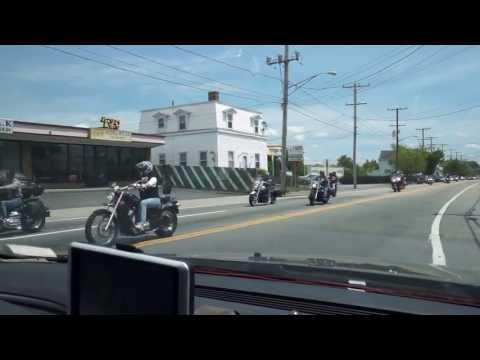 [] Harley Davidson Bikes cruising in Rhode Island