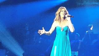 Celine Dion - My Heart Will Go On - 100% LIVE - Opening Night - Aug 27th, 2015