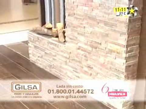 Gilsa pisos y azulejos menci n en tv mayo 2010 youtube for Interceramic pisos