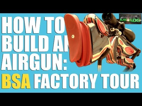 AirHeads Special - BSA Guns factory tour