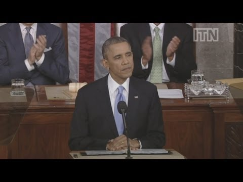 State of the Union Address 2014: Part 3 - US President Barack Obama on Iran and Afghanistan