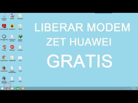 Libera Modem Gratis Huawei y ZTE