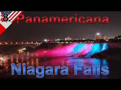 Niagarafälle bei Nacht |  Kanada & USA Roadtrip | Panamericana im  VW T4 Syncro Offroad Camper | #8.