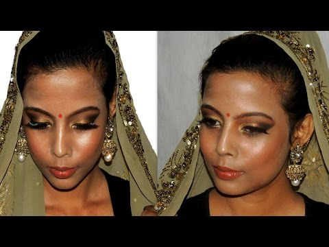 Traditional Wedding Makeup Tutorial : Asian Indian Traditional Bridal Makeup Tutorial Dark ...