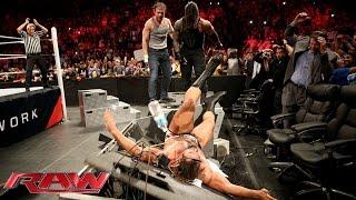 Roman Reigns & Dean Ambrose vs.  Sheamus & Rusev: Raw, January 25, 2016