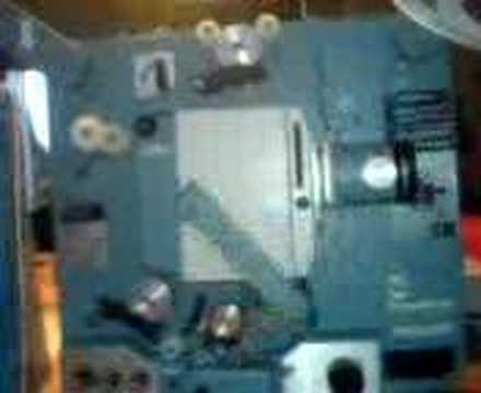 Automatic Threading 16mm projector